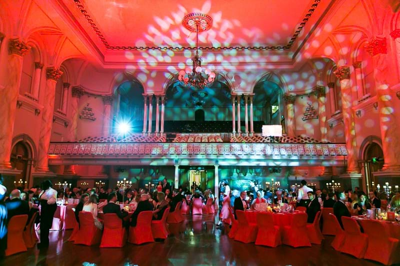 Inaugural Red Ball Adelaide for Fight Cancer Foundation held at Adelaide Town Hall.