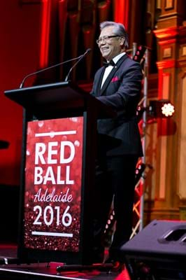 His Excellency the Honourable Hieu Van Le AO at Red Ball Adelaide for Fight Cancer Foundation.