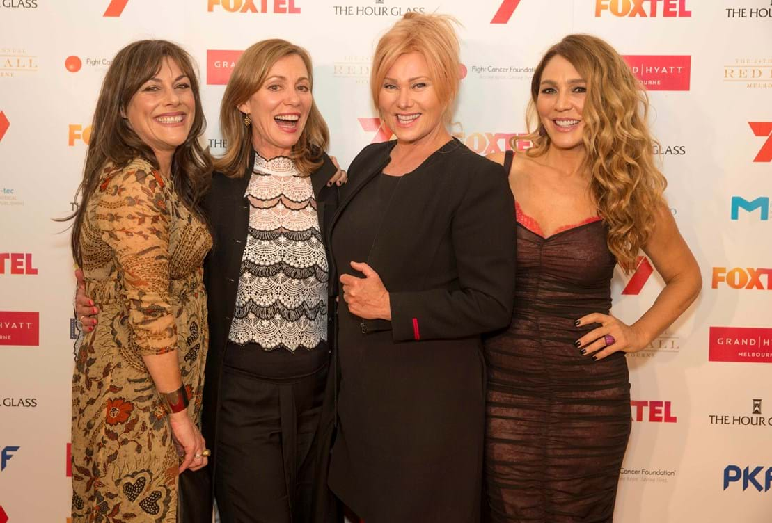 Deborra-lee Furness and Australian stars dazzle at Fight Cancer Foundation's Red Ball Melbourne 2016