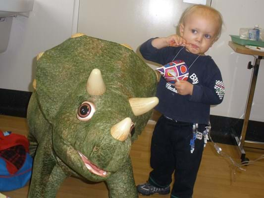 Devestatingly, Callum lost his fight at just two years and nine months old.