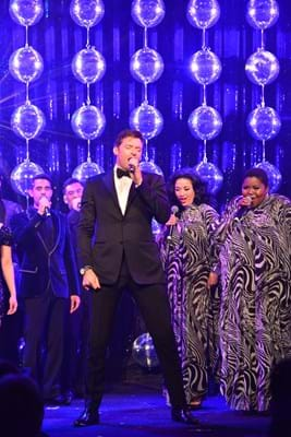 Fight Cancer Foundation Patron Hugh Jackman exclusive performance with Dreamgirls at Red Ball Melbourne.