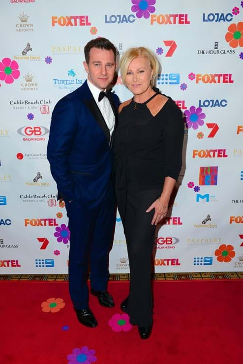 Deborra-lee Furness and David Campbell at Fight Cancer Foundation's charity ball, Red Ball.