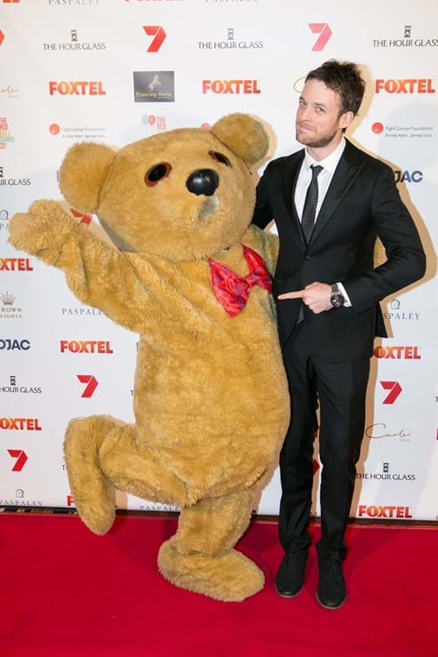 Hamish Blake hosts Fight Cancer Foundation's annual Red Ball Melbourne 21st celebrations.