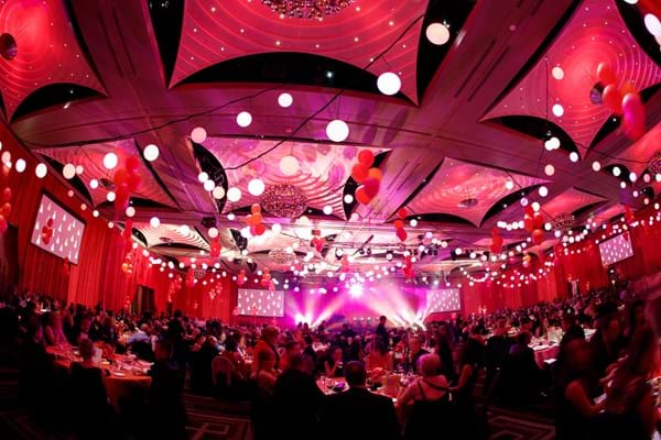 Fight Cancer Foundation's 2013 Red Ball Melbourne at Crown Palladium fundraising for cancer patients.