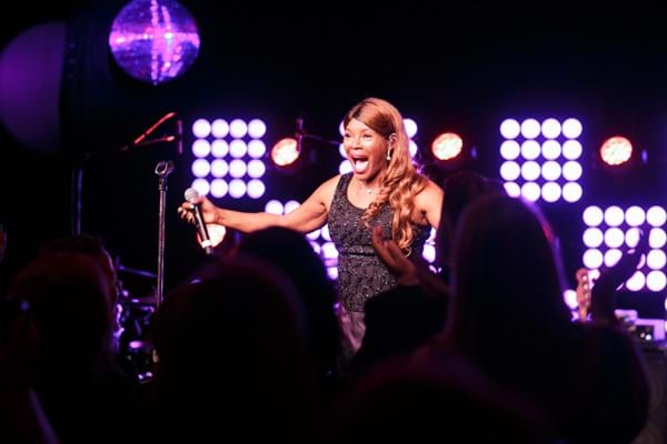Queen of Pop Marcia Hines performing at Fight Cancer Foundation's charity ball - Red Ball.
