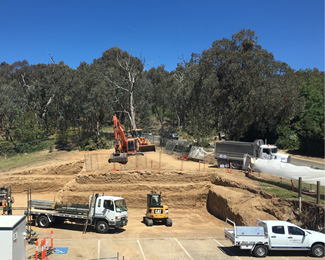 November 2019 - Construction begins and Stage 2 of the Hilltop Expansion is officially underway.
