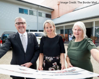 March 2019 - A generous $1.9 million grant is awarded to Fight Cancer Foundation for the Hilltop expansion from the Federal Government's 'Building Better Regions Fund'.