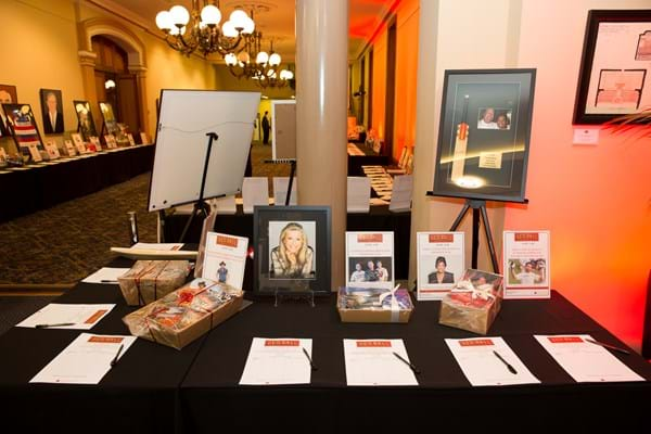 Guests had an incredible array of silent auction items to bid on.  (photo credit: Jo-anna Robinson)