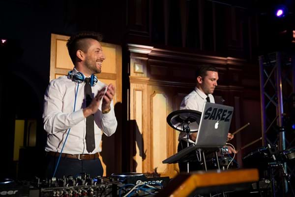 DJ Sarez  from SIFA Events.  (photo credit: Jo-anna Robinson)