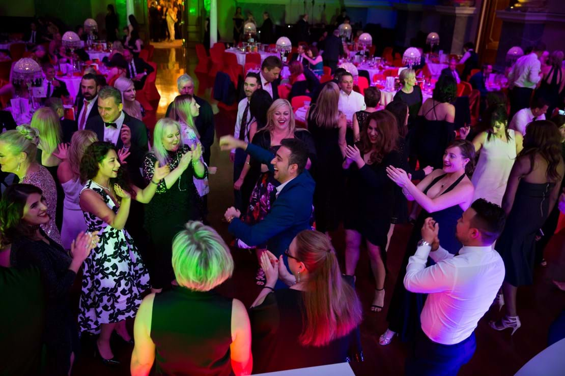 DJ Sarez from Sifa Events got our guests out on to the dance floor!