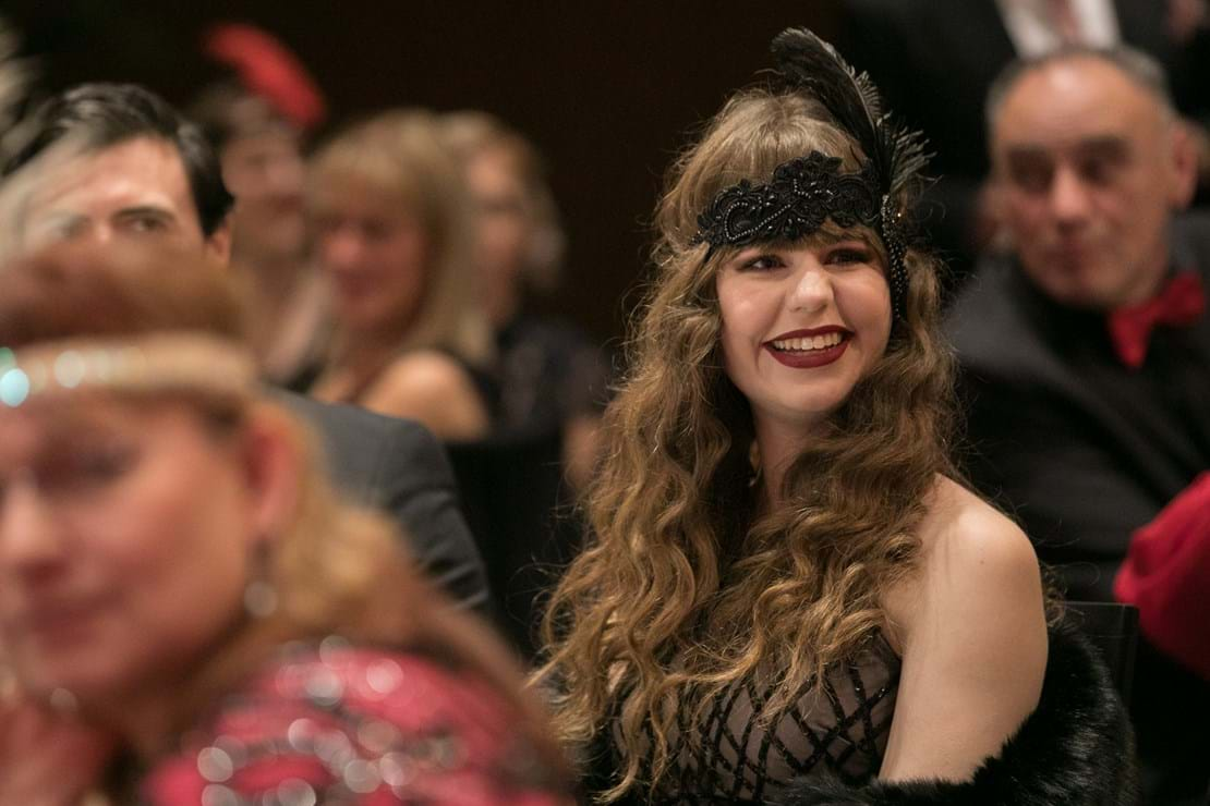 Guests embraced the 1920's glamour of the Gatsby era at the third annual Red Ball Adelaide.