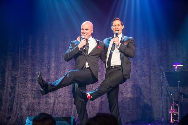 Contempo entertained guests at Fight Cancer Foundation's gala event Red Ball Melbourne.