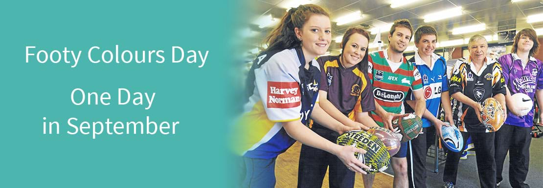 Register for Footy Colours Day