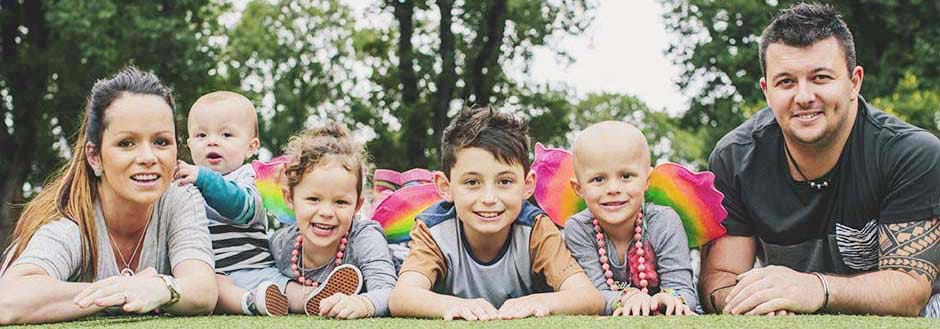Family supported by Fight Cancer Foundation share their cancer story